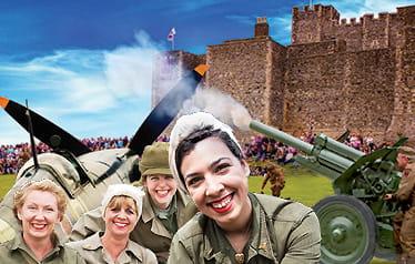 Women in military uniform