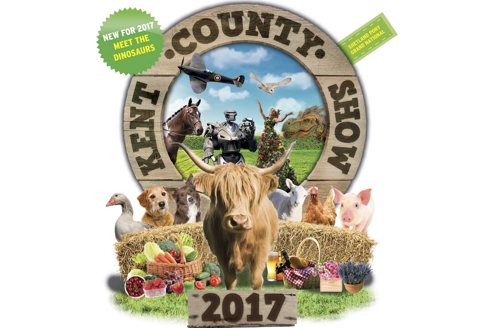 Kent County Show poster