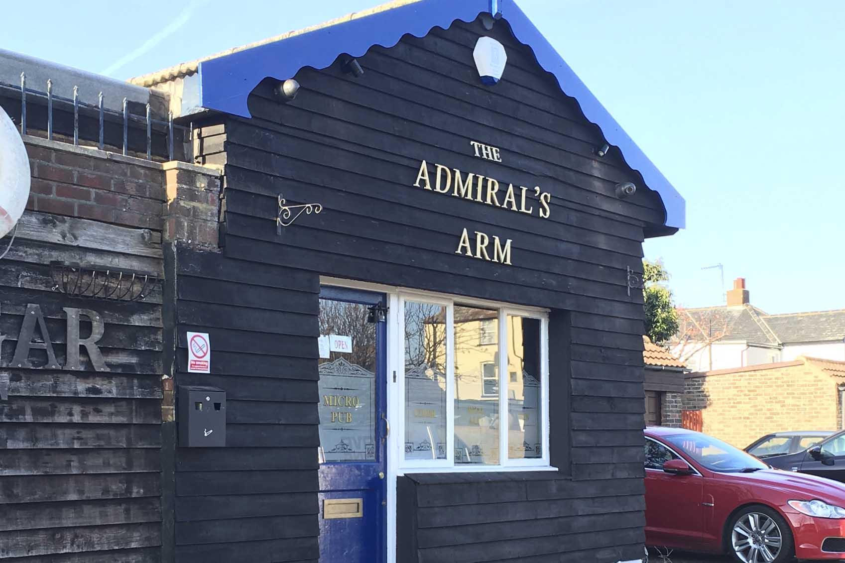 Adrmiral's pub