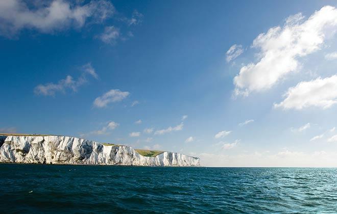 white cliff dover